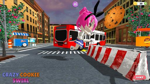 New Crazy cookie swirl: The Roboloxe Obby Game  captures d'écran 1