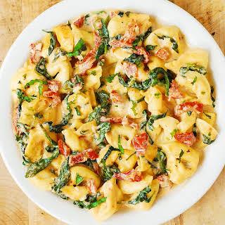 Tomato Mozzarella Tortellini Recipes.