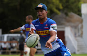 Damian Willemse of Western Province during the a training session at Bishops School in Cape Town.