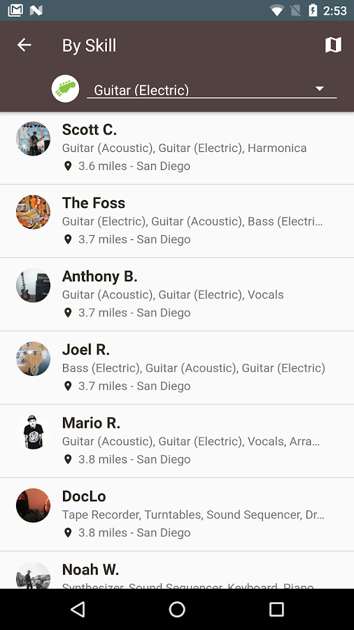 BandFriend - Musicians Network- screenshot