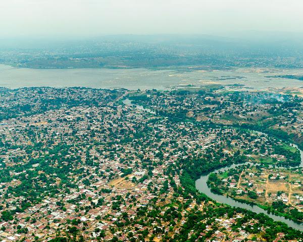 Beaming broadband across the Congo River