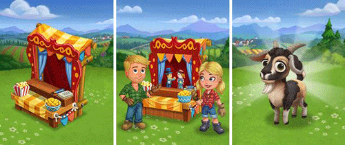 farmville 2 puppet show stage main