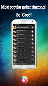 Melody Guitar Ringtones Pro screenshot 1
