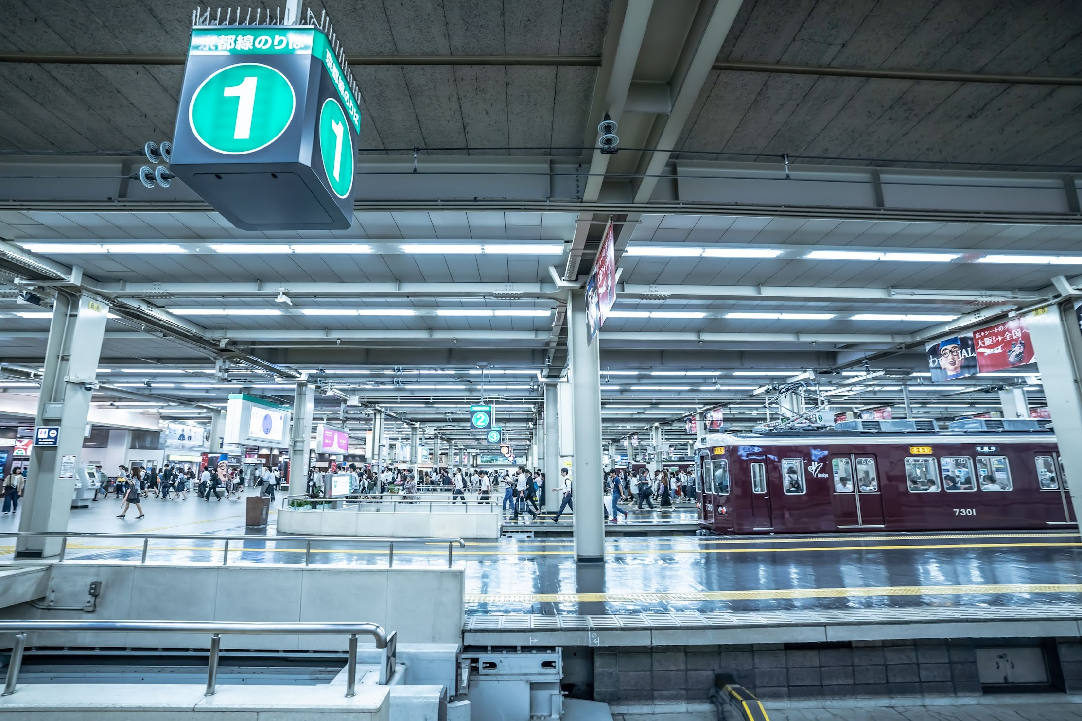 Hankyu Umeda station1