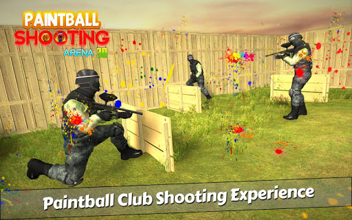 PaintBall Shooting Arena3D : Army StrikeTraining 1.5.1 screenshots 2