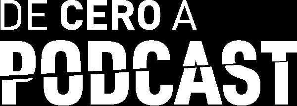 logo de Cero a podcast