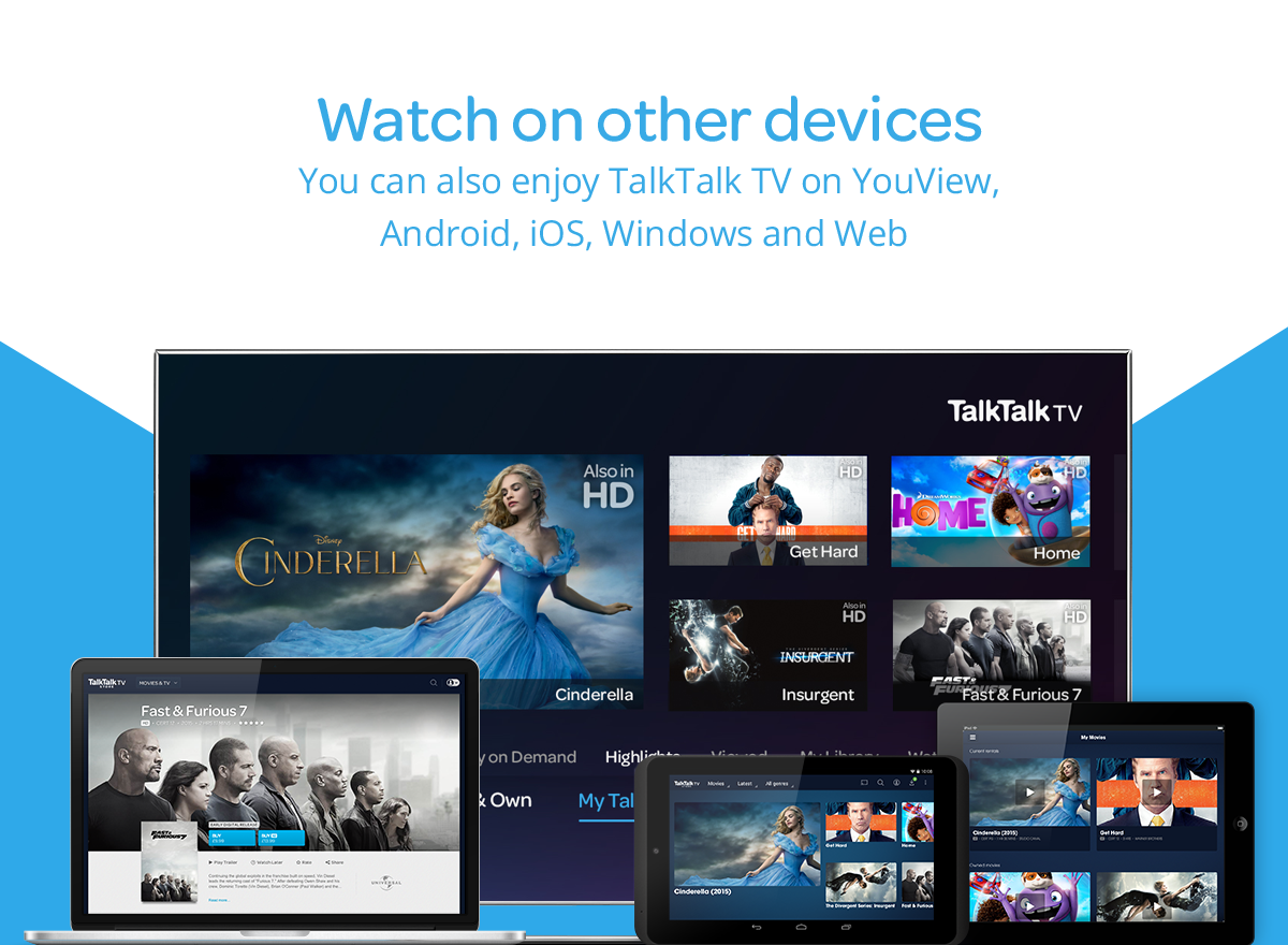 TalkTalk TV - Watch films & TV- screenshot