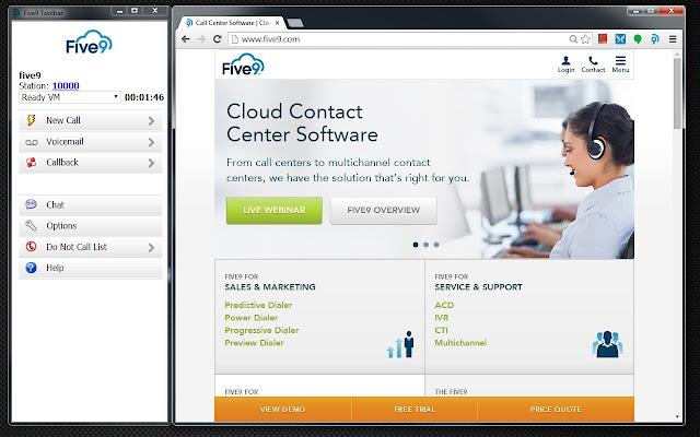 Five9 Agent Desktop Toolkit