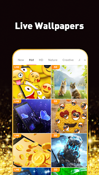 Pop Launcher - Black Emojis & Themes