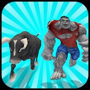 Multi Monster Bull Hero VS Super Villains