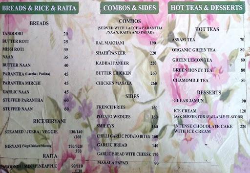 Open Yard menu 3