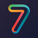 7 Letters - Multiplayer Word Puzzle Game icon