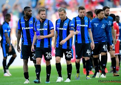 Éliminer Manchester United ou battre l'Antwerp en finale de Coupe ? Des supporters du Club de Bruges ont vite fait leur choix