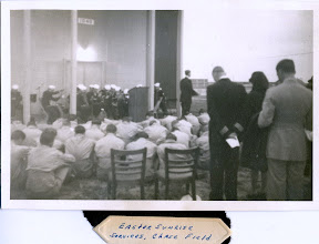 Photo: Easter Sunrise Services  at Chase FIeld 1944 Photo Courtesy  Don Kochi