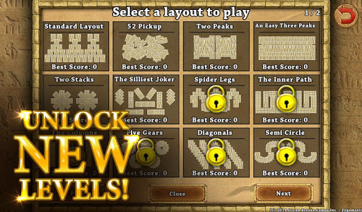 3 Pyramid Tripeaks Solitaire - Free Card Game apkmr screenshots 19