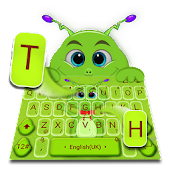 Genial Cute Cartoon Alien Keyboard Theme Android APK Download Free By Bs28patel