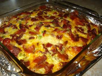 Cheesy Breakfast Casserole