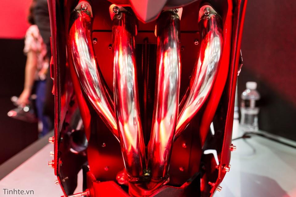 [Computex 2016] Trên tay thùng máy độ phong cách Ghost Rider của ASUS RoG