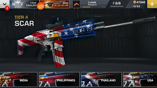 MAJOR GUN MOD APK WAR ON TERROR DOWNLOAD FREE HACKED VERSION 3