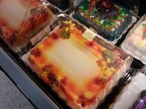 Photo: Pretty fall cakes.