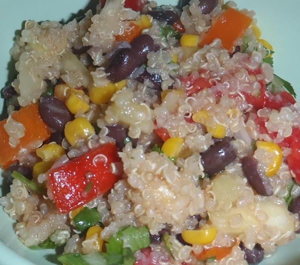 Quinoa Salsa Salad Recipe