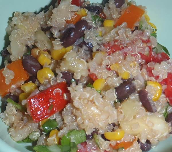 Quinoa Salsa Salad