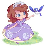 Sofia The First Dress Up Game