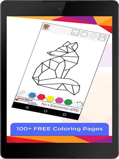 免費下載休閒APP|Animal Geometric Coloring Book app開箱文|APP開箱王