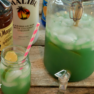 Blue Curacao And Ginger Ale Recipes.