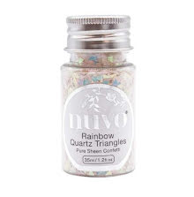 Tonic Studios Nuvo Confetti 35ml - Rainbow Quartz Triangles 1067N