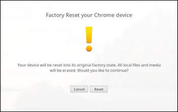 Execute Samsung Powerwash Factory Reset