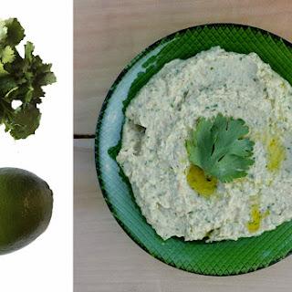 Cilantro Lime Hummus Recipe