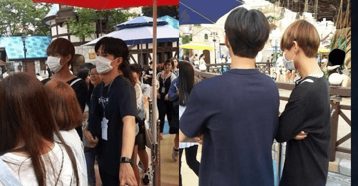 Idols caught by fans on their secret date - Koreaboo