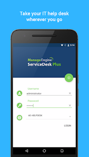 ServiceDesk Plus - IT Helpdesk- screenshot thumbnail