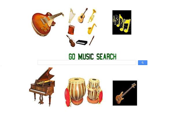 Go Music Search