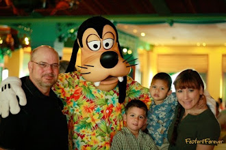 Photo: We enjoyed meeting the #Disney characters, including Goofy, up close & personal throughout our cruise!