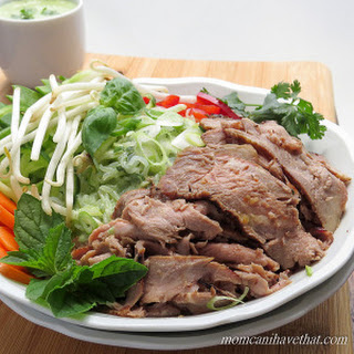 Thai Beef Salad Noodle Bowl