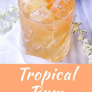 Tropical Rum Margarita.