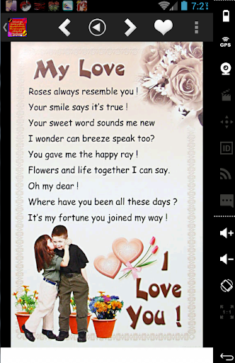 love messages cards wallpapers screenshot 2