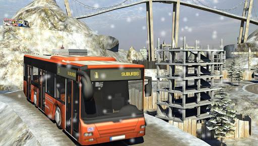 Snow Hill Bus Drivingsimulator 1.2 screenshots 3