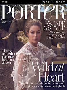 PORTER magazine- screenshot thumbnail