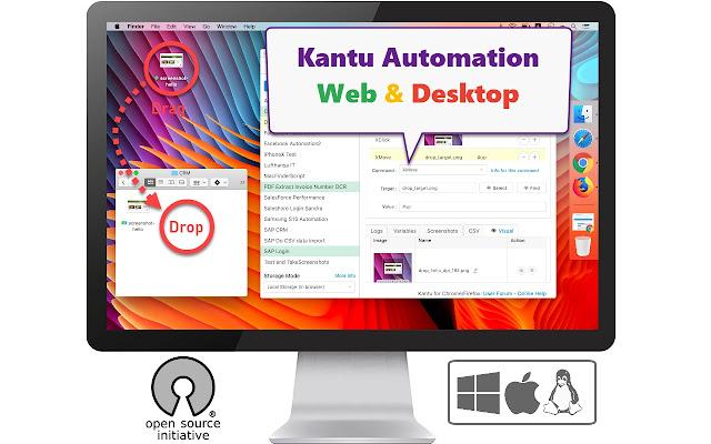 UI Vision Kantu for Chrome