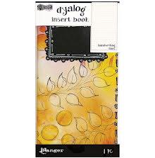 Dylusions Dyalog Insert Book -  Handwriting Lines #2