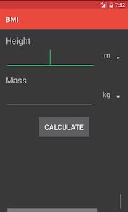 Body Mass Index screenshot 0