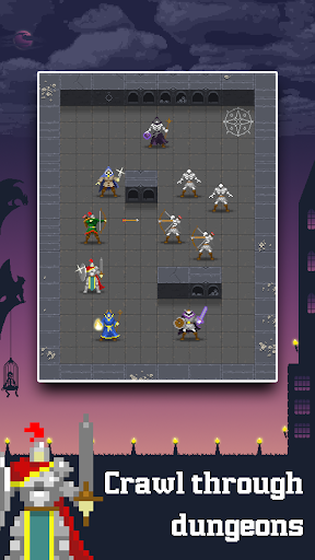 Dunidle - Incremental RPG Dungeon Crawler 1200000030 screenshots 1