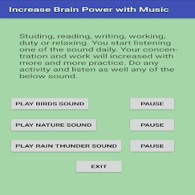 Increase brain power with Music