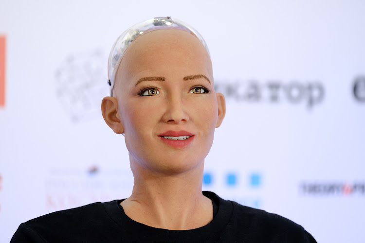 Sophia, the humanoid robot, is known to make jokes