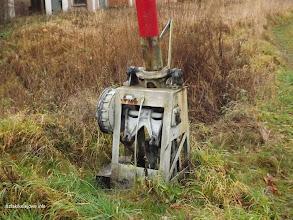 Photo: Mechanizm opuszczania/podnoszenia szlabanów na przej. w km 95,908