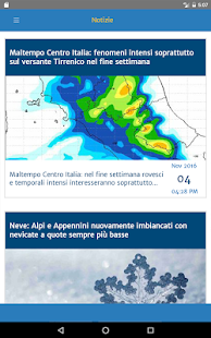 Meteo by Centro Meteo Italiano- screenshot thumbnail
