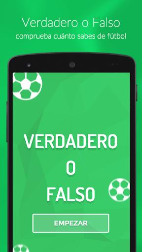 Verdadero o Falso - Fútbol